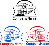 Logotipo do transporte Imagens de Stock