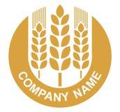 Logotipo do trigo Fotografia de Stock Royalty Free