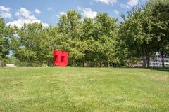 Logotipo do ` do ` U da Universidade de Utah Fotos de Stock