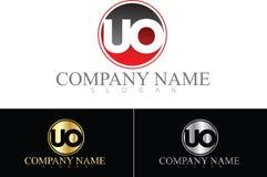 Logotipo do UO Imagem de Stock