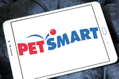 Logotipo do varejista de PetSmart Fotografia de Stock