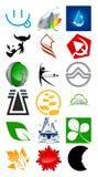 Logotipo do vetor & elemento do projeto Fotografia de Stock