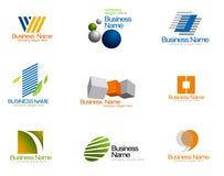 Logotipo do vetor da empresa Foto de Stock