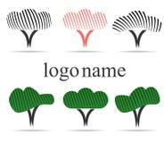 Logotipo do vetor para o design web Imagem de Stock