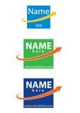 Logotipo do vetor para o negócio Imagens de Stock