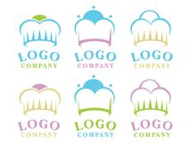 Logotipo doce da loja Fotos de Stock