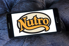 Logotipo dos alimentos para animais de estimação de Nutro Fotos de Stock