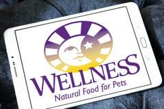 Logotipo dos alimentos para animais de estimação do bem-estar Imagem de Stock Royalty Free
