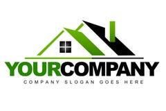 Logotipo dos bens imobiliários Imagens de Stock