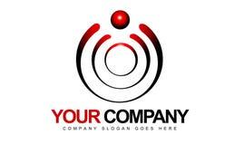 Logotipo dos círculos Fotos de Stock