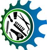 Logotipo dos cabeleireiro ilustração do vetor
