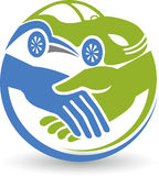 Logotipo dos cursos dos amigos Imagem de Stock Royalty Free