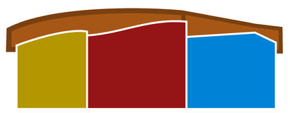 Logotipo dos edifícios Fotografia de Stock