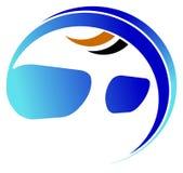 Logotipo dos Eyeglasses ilustração stock