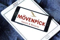 Logotipo dos hotéis e dos recursos de Mövenpick imagem de stock royalty free