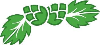 Logotipo dos lúpulos Imagem de Stock