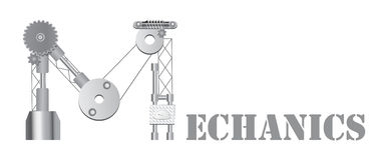 Logotipo dos mecânicos Fotos de Stock