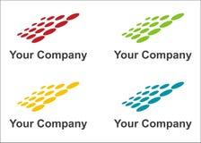 Logotipo dos painéis solares Foto de Stock