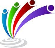 Logotipo dos pares Fotos de Stock