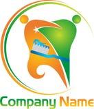 Logotipo dos pares de Ental Fotografia de Stock