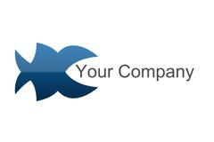Logotipo dos peixes Fotos de Stock Royalty Free