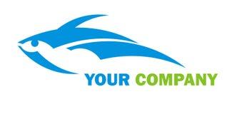 Logotipo dos peixes Imagens de Stock