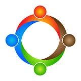 Logotipo dos povos Imagem de Stock