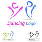Logotipo dos povos Fotografia de Stock Royalty Free