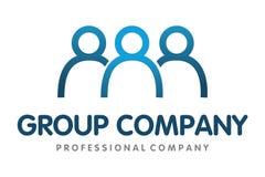 Logotipo dos povos do grupo Fotografia de Stock Royalty Free
