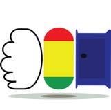 Logotipo dos produtos Imagens de Stock Royalty Free