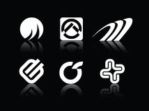 Logotipo dos símbolos do vetor Fotos de Stock