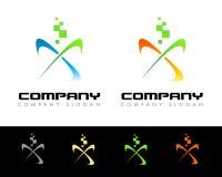 Logotipo dos Swashes Imagens de Stock