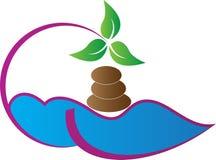 Logotipo dos termas ilustração royalty free