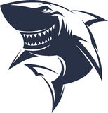 Logotipo dos tubarões Imagem de Stock