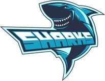 Logotipo dos tubarões Fotografia de Stock Royalty Free