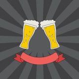Logotipo dos vidros do tim-tim Imagens de Stock