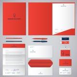 Logotipo e identidade de P Rolo do logotipo do papel Envelope, dobrador, tampa, cabeçalho, letra, penas, lápis, crachás e cartões ilustração royalty free