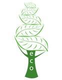Logotipo ecológico Fotografía de archivo
