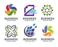 Logotipo elegante da empresa Imagens de Stock Royalty Free