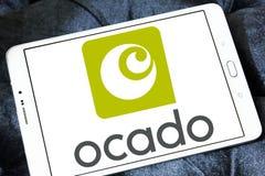 Logotipo em linha do supermercado de Ocado Imagem de Stock Royalty Free