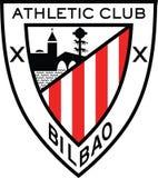 Logotipo España del Athletic de Bilbao Imagen de archivo libre de regalías