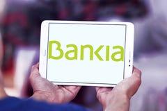 Logotipo español del banco del Bankia Foto de archivo libre de regalías