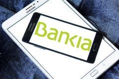 Logotipo español del banco del Bankia Imagen de archivo libre de regalías