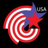 Logotipo EUA Imagens de Stock