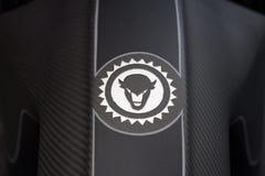 Logotipo feito sob encomenda dos velomotor de Erbacher Fotos de Stock