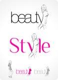 Logotipo - forma ilustração stock
