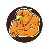 Logotipo fuerte del águila