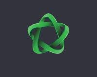 Logotipo gráfico do elemento Imagem de Stock Royalty Free