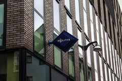 Logotipo holandês da polícia Foto de Stock Royalty Free