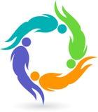Logotipo humano Imagens de Stock